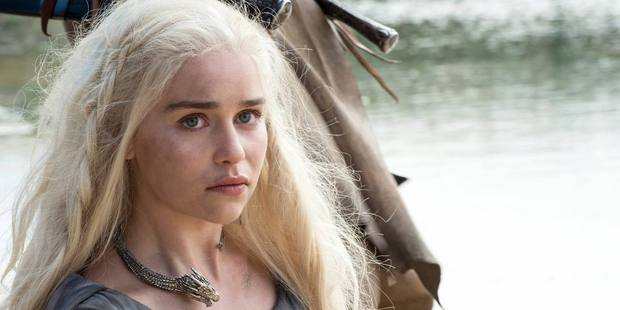 Loading Emilia Clarke as Daenerys Targaryen in a scene from the upcoming season of Game of Thrones. Photo / HBO
