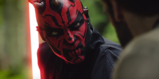 Fans have made a short film based on the Star Wars character Darth Maul.