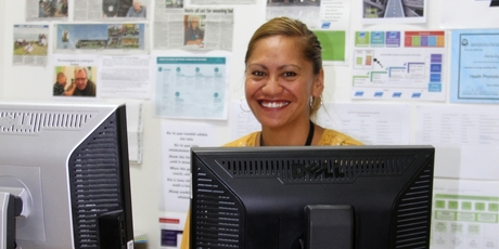 AT WORK: And at work in Kaitaia for Make it Happen Te Hiku.