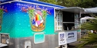 Tourists and islanders alike flock to the Original Big Island Shave Ice Co. food truck in Kawaihae, Hawaii. Photo / Original Big Island Shave Ice Co