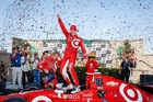 Scott Dixon is now fifth on the all-time IndyCar winners' list. Picture / Chevrolet Racing