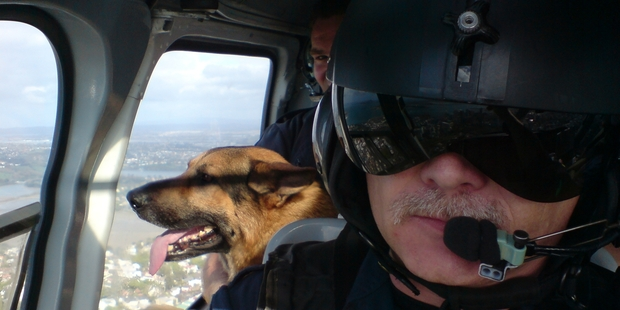 """Former police helicopter pilot Tim Briggs says the number of burglaries is """"mind-boggling"""". Photo / Supplied via Tim Briggs"""
