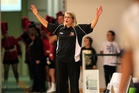 MAN MANAGEMENT: Hawks coach Kirstin Daly-Taylor has a few systems she likes her players to abide by. PHOTO/FILE