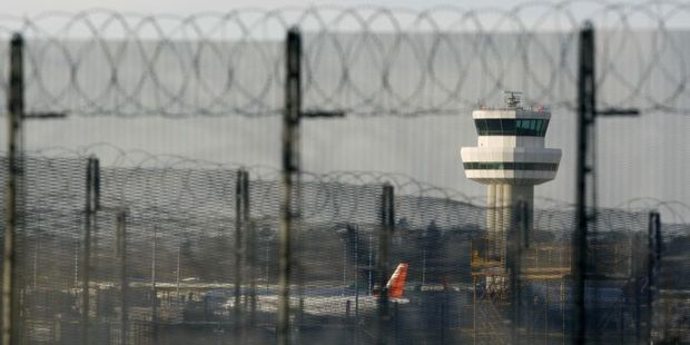 A flight at Gatwick Airport was delayed after 25 drunk Irish passengers were removed from the plane