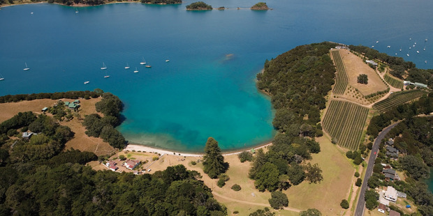 Kennedy Bay on Waiheke Island. Photo / File