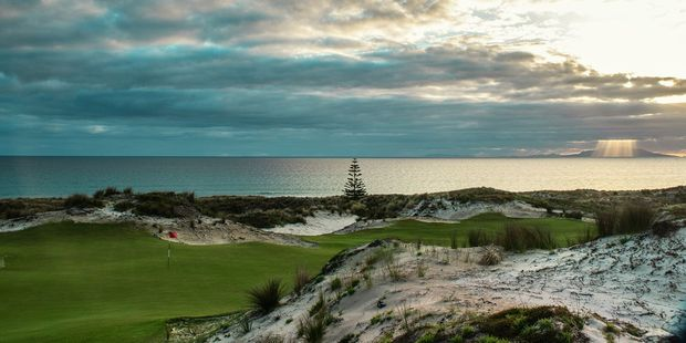 Tara Iti Golf Course is a 75 minute drive or 100km north of Auckland.
