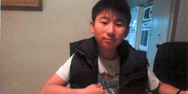 Missing 11 year old Mike Zhao-Beckenridge. Photo / Supplied