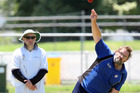 Tim King was profitable for City and took two wickets in the first innings. PHOTO/TANIA WHYTE