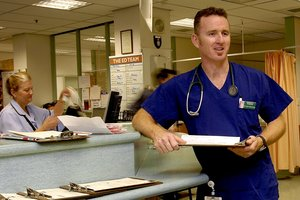 Waikato Hospital's Dr John Bonning says the alcohol-fuelled violence in emergency departments is 'terrible'. Photo / File