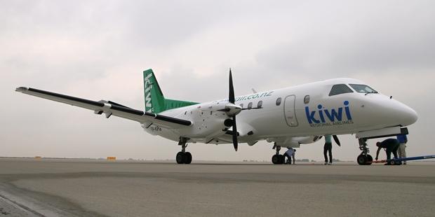 Kiwi Airlines' Saab 340A.
