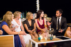Jordan Mauger talks to some of the girls competing for his heart on The Bachelor NZ.