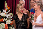Catherine is eliminated during last night's rose ceremony on The Bachelor NZ.