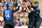 New Zealand's thumped Sri Lanka by 74 runs in Mumbai. Photo / Getty Images.