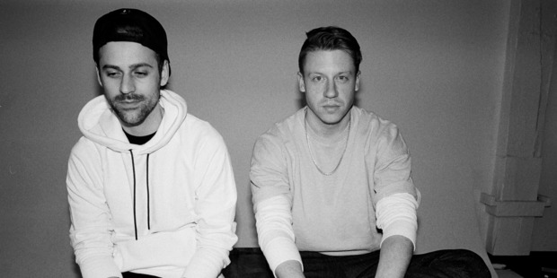 Macklemore, left, and Ryan Lewis will return to New Zealand in July for two shows. Photo /  Amanda Smith