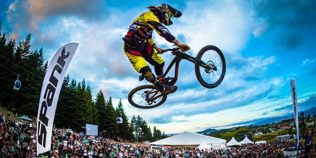 Crankworx Rotorua kicks off at Skyline Rotorua this week. Photo/Clint Trahan