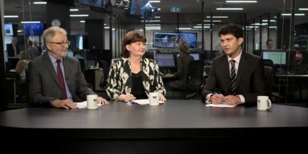 Loading This week's guest panelists Brian Gaynor and Fran O'Sullivan on The Economy Hub with Liam Dann.