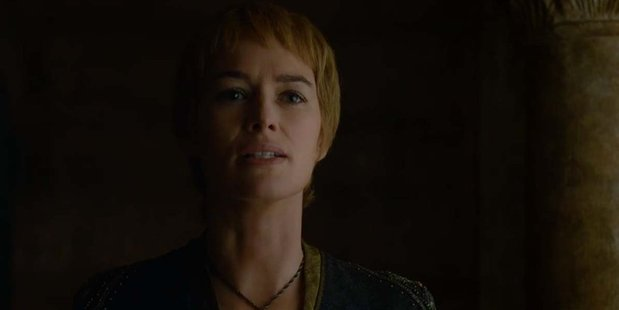 Cersei Lannister sports a new look in the latest trailer for Game of Thrones.