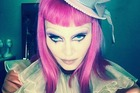 Madonna showed off her outfit for her Tears of a Clown show in Melbourne on Twitter.