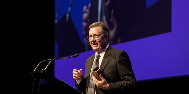 Lifetime achievement winner Peter Cullinane.