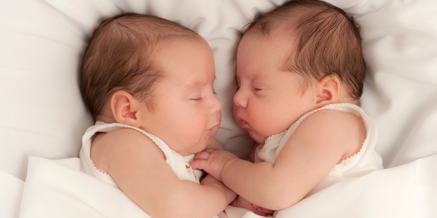 There have been only seven cases of bi-paternal twins reported worldwide since 2011. Photo / Getty.