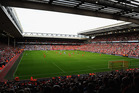 The final of league's Four Nations could be hosted at Anfield. Photo / Getty