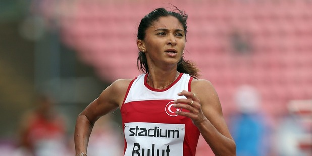 Gamze Bulut during The European Athletics U23 Championships. Photo / Getty Images