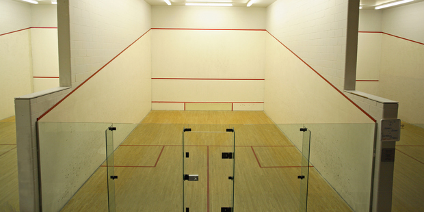 Squash court. Photo / Getty Images