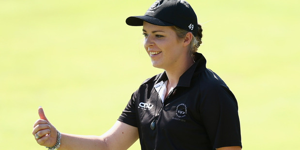Mandy Boyd of New Zealand during the 2014 Commonwealth Games. Photo / Getty Images