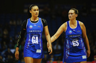 Maria Tutaia and Catherine Latu of the Northern Mystics. Photo / Getty