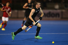 Hugo Inglis scored a hat-trick to help New Zealand beat Malaysia. Photo / Getty