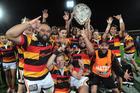 Waikato won the Ranfurly Shield from Hawkes Bay late last season. Photo / Getty