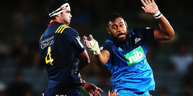 Patrick Tuipulotu's relegation to the bench will send a message to the rest of the Blues. Photo / Getty