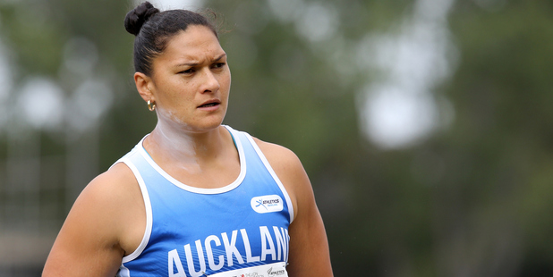 Valerie Adams competes in the 2016 National Track & Field Championships. Photo / Getty Images