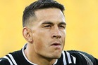 Sonny Bill Williams leg injury which ruled him out of the New Zealand sevens team for the Las Vegas world series tournament has been revealed as a knee problem. Photo / Getty Images.