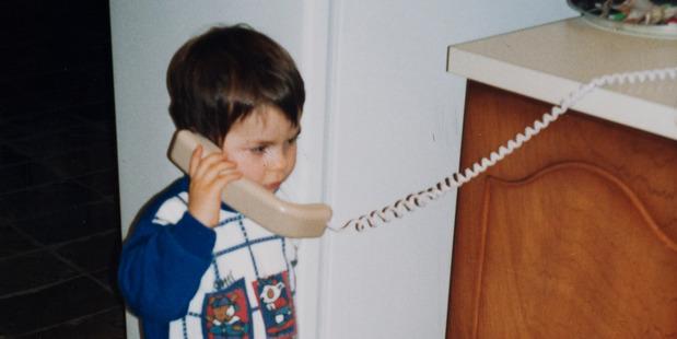 Jamie Beaton, aged 4, 1999.
