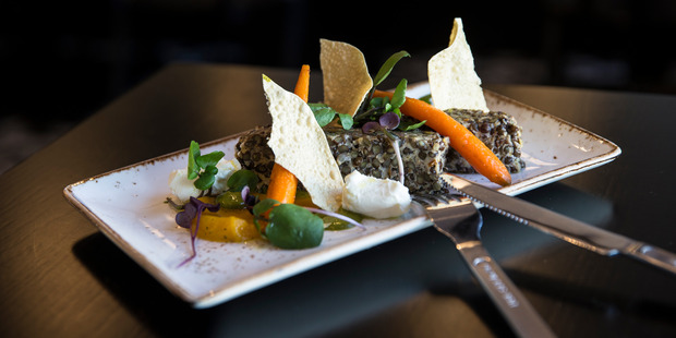 Little Jimmy Bar & Eatery. Green Lentils. Photo / Guy Coombes.