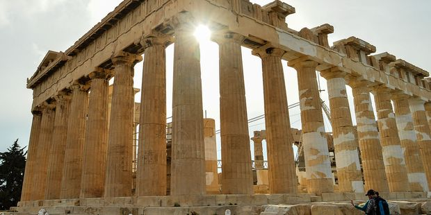 Athens — 'epitomising all that is civilised and cultured about the past 120 generations of  history'.