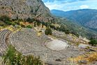 Delphi, where the Oracle worked her miracles  and died a nasty death.