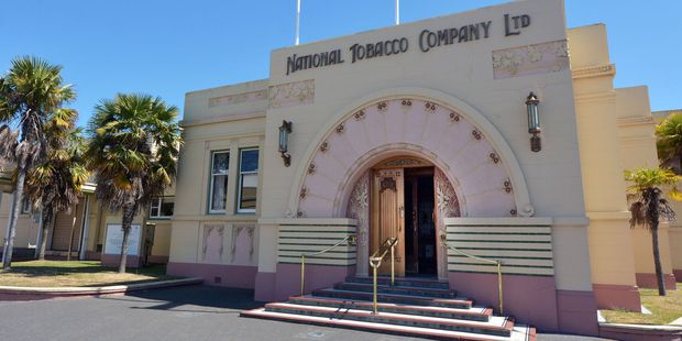 The National Tobacco Company Building in Napier.