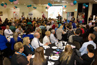 The Professionals McDowell Real Estate Child Cancer Charity Breakfast and Art Auction raised $40,500 for Child Cancer yesterday.  Photo/Stephen Parker