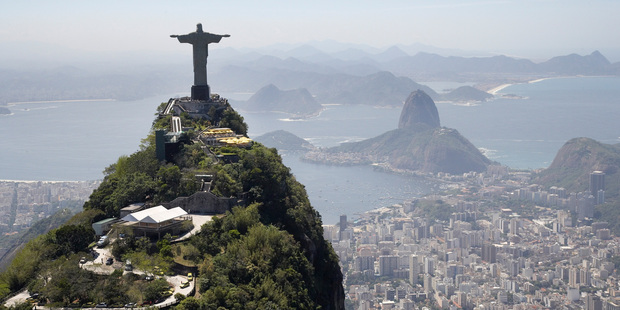Christ the Redeemer over looks the city. Photo / Getty Images