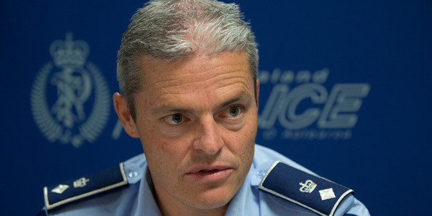 Police Acting Assistant Commissioner, Superintendent Richard Chambers says police have put a lot of effort into preventing burglaries Photo / Mark Mitchell