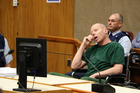 Russell John Tully on trial in the High Court at Christchurch. Photo / Pool photos