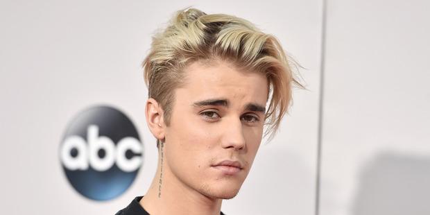 Sorry singer, Justin Bieber. Photo / AP