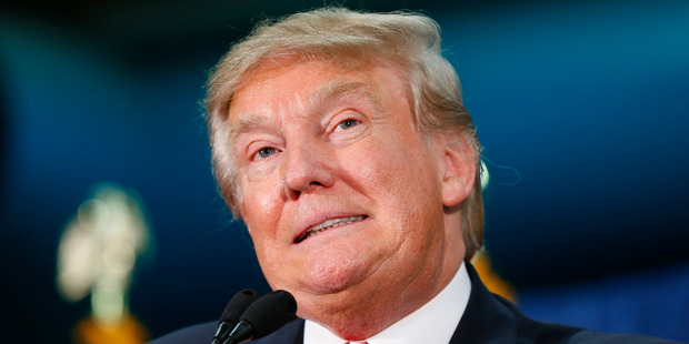 Trump is not only beating all rivals for the Republican nomination, he is laughing at conventional political commentary. Photo / AP