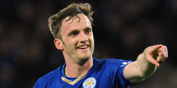 Leicester's Andy King. Photo / AP.