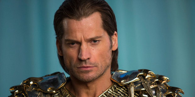 "Nikolaj Coster-Waldau portraying Horus in a scene from ""Gods of Egypt.""."