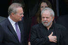 Former Brazilian President Luiz Inacio Lula da Silva (Right). Photo / AP