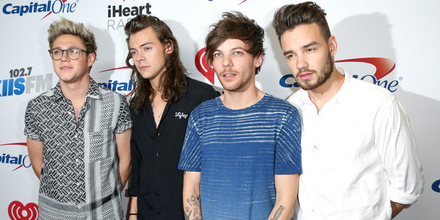 Niall Horan, Harry Styles, Louis Tomlinson and Liam Payne of One Direction are on hiatus, but what does it mean for the band? Photo / AP