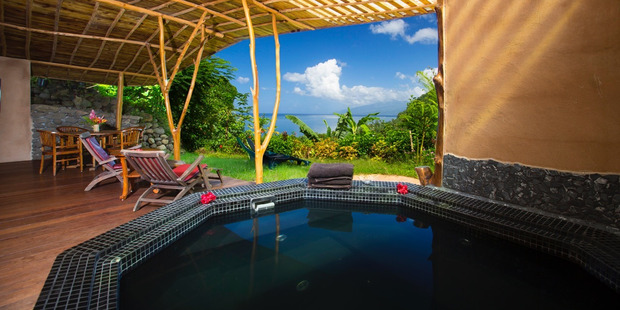 The lush gardens and sea views at Vanira Resort mean it is amazing value for money.